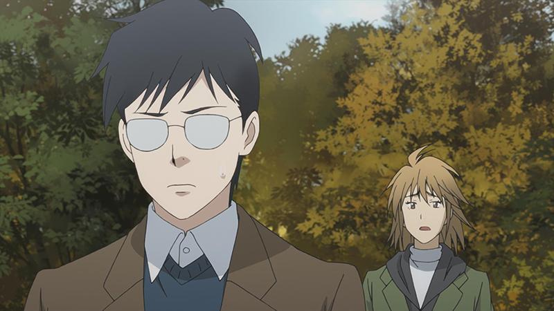 TVアニメ「ピアノの森」第18話より。