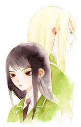 「メジロバナの咲く」カラーカット