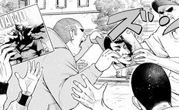 「ラッパーに噛まれたらラッパーになる漫画」第6話より。