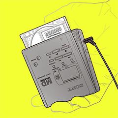 12話分のエンディング曲が収められたアルバム「MD2000 ~ReLIFE Ending Songs~」。