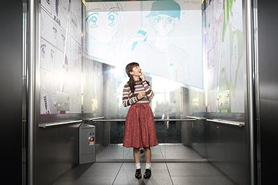 天望シャトルは出展作品の主人公たちの、出会いのシーンやターニングポイントで彩られている。