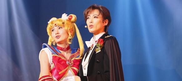 上海公演初日の様子。