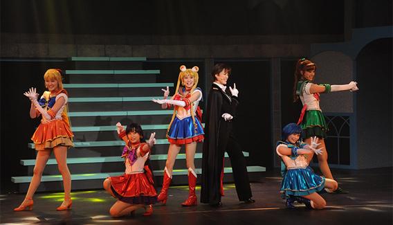 ミュージカル「美少女戦士セーラームーン ~Petite Étrangère~」公開舞台稽古の様子。