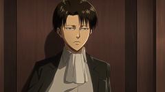 テレビアニメ「『進撃の巨人』Season2」よりリヴァイ。