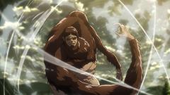 テレビアニメ「『進撃の巨人』Season2」より獣の巨人。