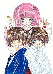 2005年から2006年にかけて連載された「萌えカレ!!」。少女マンガが大好きな主人公・若宮ひかると、顔がそっくりの異母兄弟・本田宝と壱川新による恋模様を描く。