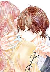 「あのコの、トリコ。」カット。実写映画版のポスターでは、同イラストを鈴木頼役の吉沢亮が再現している。