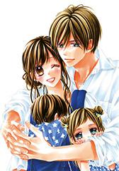 Sho-Comi2019年1号に掲載される「今日、恋をはじめます」新作読み切りの扉イラスト。