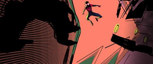 「スパイダーマン:スパイダーバース」より。