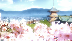 「京都寺町三条のホームズ」の場面カット。
