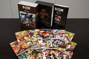 「復刻大全集」はそれぞれ、B5判の本誌とB6判の別冊付録15冊前後のセットで構成されている。