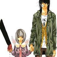 「VANILLA FICTION」に登場する2人。左からエリ、佐藤。