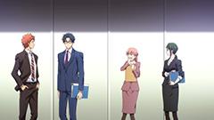 アニメ「ヲタクに恋は難しい」第1話より。