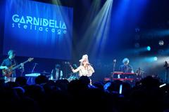 GARNiDELiAのライブ「stellacage」の様子。