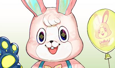 アミューズメント施設管理プログラム出身で、二つ名は「夢見るウサギ」。とにかく人を楽しませたいという情熱に溢れた性格。夢のテーマパーク「ワンダードリームランド」の支配人兼マスコット。中の人などいない。