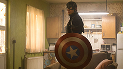 「シビル・ウォー/キャプテン・アメリカ」より、キャプテン・アメリカ。