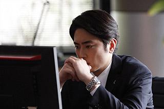 「BG~身辺警護人~」より、間宮祥太朗演じる沢口正太郎。