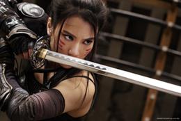 「BLACKFOX: Age of the Ninja」より、山本千尋演じる石動律花。