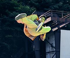 「仮面ライダー平成ジェネレーションズFINAL ビルド&エグゼイドwithレジェンドライダー」より、葛葉紘汰。