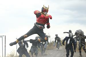 「平成仮面ライダー20作記念 仮面ライダー平成ジェネレーションズ FOREVER」より、仮面ライダークウガ。