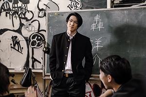 ドラマ「HiGH&LOW ~THE STORY OF S.W.O.R.D.~」シーズン2より、前田公輝演じる轟洋介。