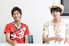 左から、西川俊介、多和田秀弥。