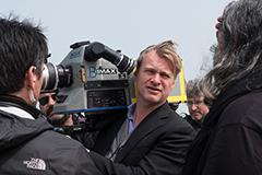 「ダンケルク」撮影中のクリストファー・ノーラン。