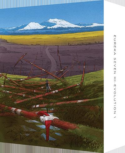 Blu-ray「交響詩篇エウレカセブン ハイエボリューション1」特装限定版