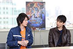 左から濱田龍臣、石黒英雄。