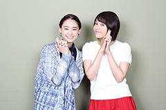 左から柳美稀、大沢ひかる。