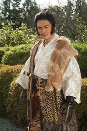 井俣太良演じる白河三太夫。