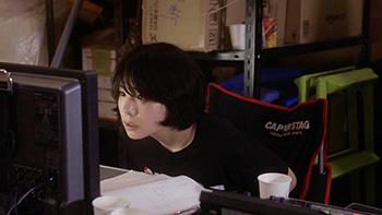 「カメラを止めるな!」より、監督志望の暴走娘・日暮真央役の真魚。
