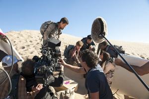 「メイズ・ランナー2:砂漠の迷宮」メイキング写真