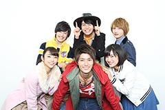 上段左から中村嘉惟人、多和田秀弥、松本岳。下段左から山谷花純、西川俊介、矢野優花。