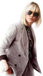 ケイト・ブランシェット演じるルー・ミラー。