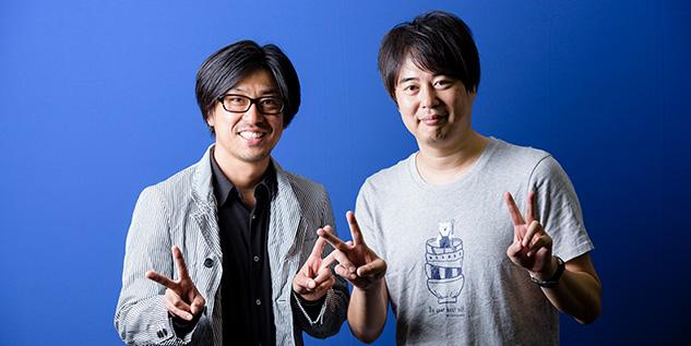 左から瑠東東一郎、徳尾浩司。