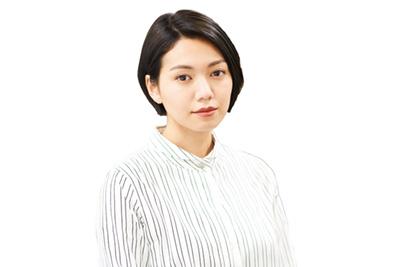 二階堂ふみ演じる米田青子。