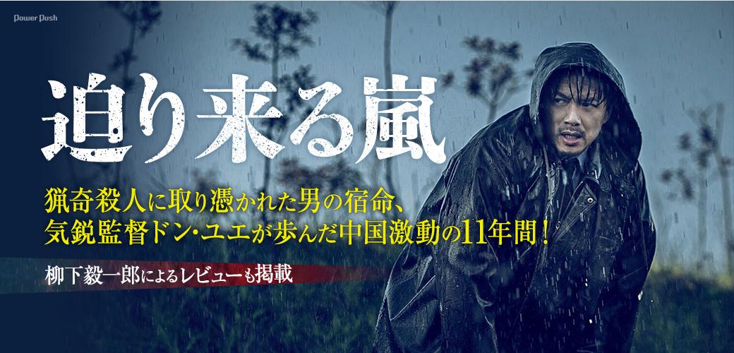「迫り来る嵐」|猟奇殺人に取り憑かれた男の宿命、気鋭監督ドン・ユエが歩んだ中国激動の11年間!柳下毅一郎によるレビューも掲載
