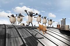 都会に繰り出したショーンとひつじの仲間たちは、野良犬のスリップと出会う。