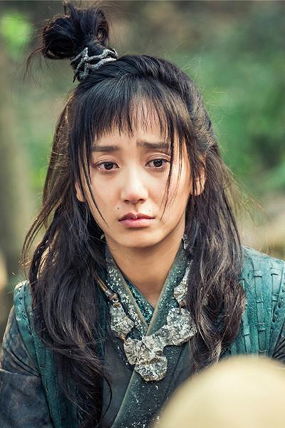 「神龍<シェンロン>-Martial Universe-」より、ドン・チン演じる林青檀。