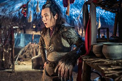 「神龍<シェンロン>-Martial Universe-」より、スオ・シャオクン演じる小貂。