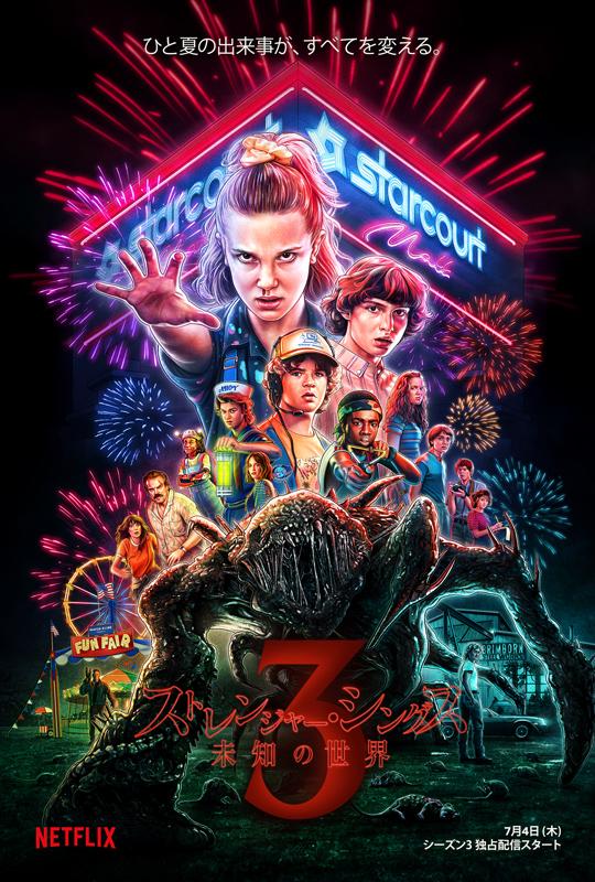 Netflixオリジナルシリーズ「ストレンジャー・シングス 未知の世界」