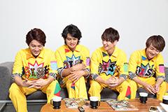 左からMASAKI、TAKUMI、RYUJI、To-i。