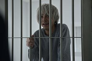 「スマホを落としただけなのに 囚われの殺人鬼」より、成田凌演じる浦野善治。