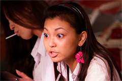 「SUNNY 強い気持ち・強い愛」より、野田美桜演じる裕子。