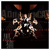 「黒猫~Adult Black Cat~」CD+DVD盤ジャケット