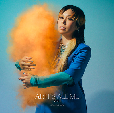 AI「IT'S ALL ME - Vol.1」初回限定盤