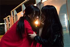 映画「累-かさね-」のワンシーン。©2018映画「累」製作委員会 ©松浦だるま/講談社
