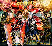 angela「LOVE & CARNIVAL」初回限定盤ジャケット
