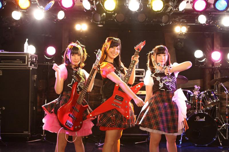 「BanG_Dream! 1st LIVE『春、バンド始めました!』」の様子。